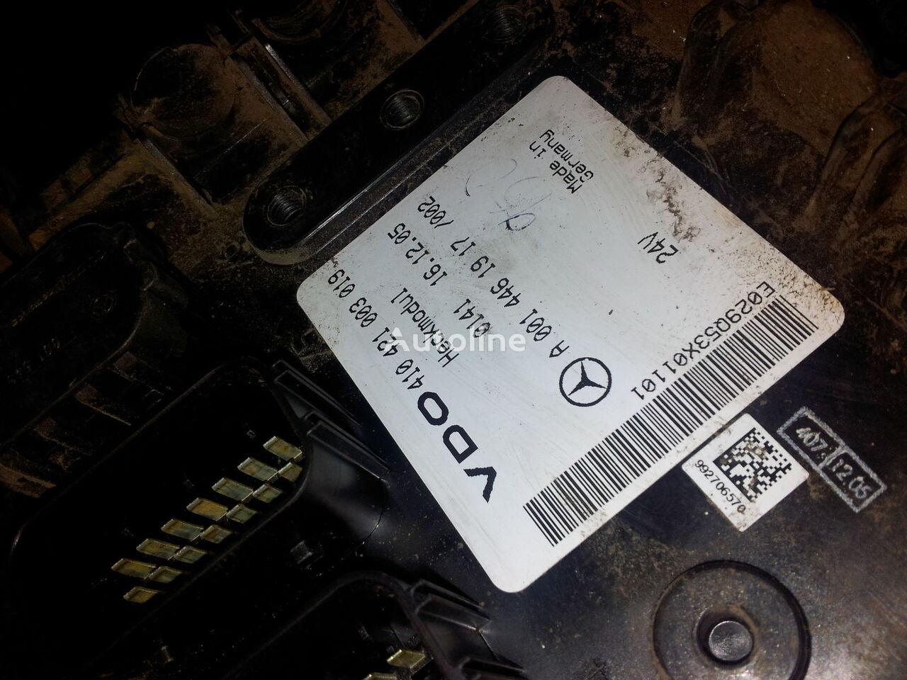 MB Actros MP2, MP3, Heckmodul, control unit, EDC, ECU, rear module electronics, 0014461917, 0014462817, 0014462017,0014461917,0014462717,0014461617, 41021003020, 410421003019, 0014462817 control unit for MERCEDES-BENZ Actros MP2; MP3 tractor unit
