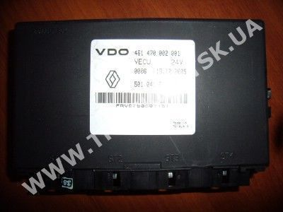 Renault control unit for RENAULT tractor unit