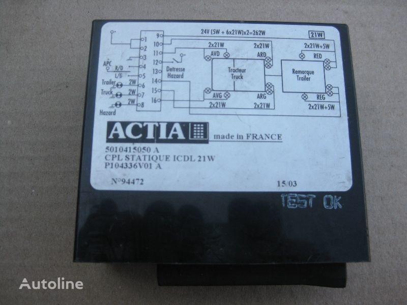 ACTIA control unit for RENAULT truck