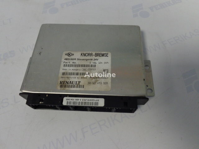 KNORR-BREMSE ABS ASR Steuergerat 0486104049,5010493009,BOCH MF1D25030067 control unit for RENAULT tractor unit