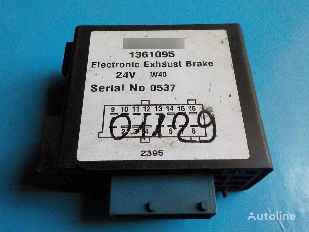 control unit for SCANIA truck