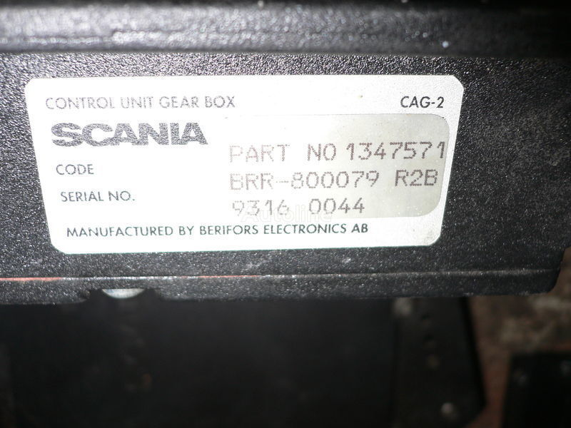 Scania GEAR BOX 1347571 . 1362616 . 1505135 . 488207. 1434153. 1368153. 1360315 control unit for SCANIA 113 bus