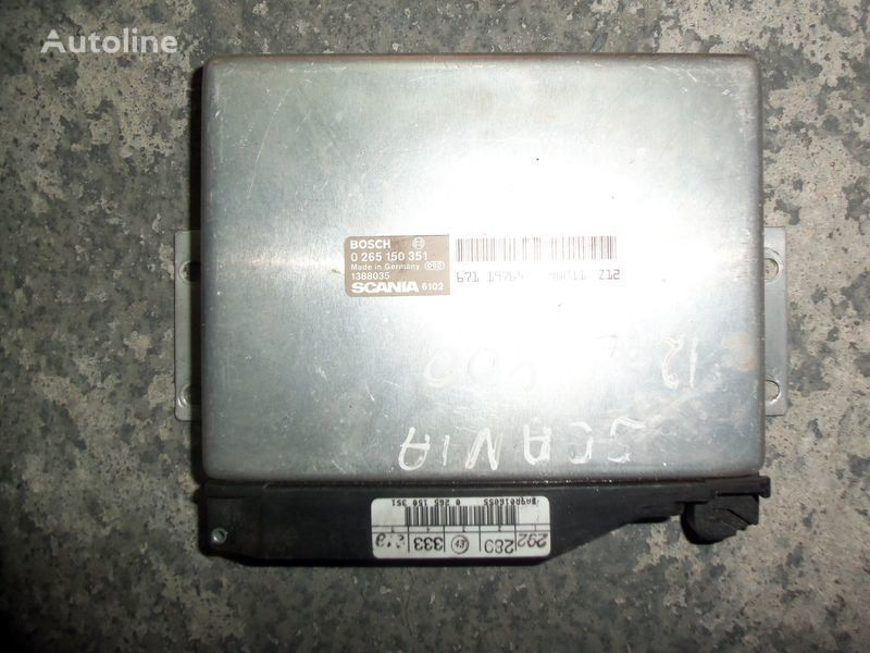 Scania 4 series EBS control unit 1423866, 1388035, 1411124, 1506029, 1402263, BOSCH 0265150351, 1411124,  1423866, 1506029 control unit for SCANIA 4 series tractor unit