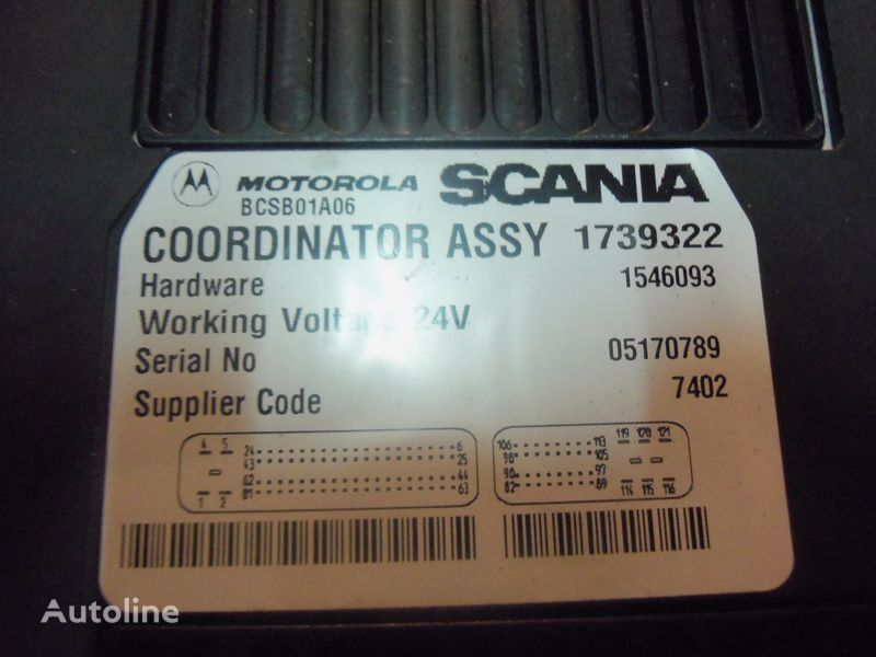 Scania R  series Coordinator ASSY, EDC, ECU, 1739322, 1753063, 1757920 control unit for SCANIA R Series tractor unit