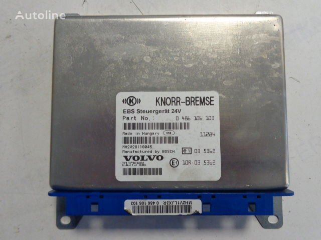 KNOR-BREMSE EBS Steuergerat 24V , 0486106063,0486106064, 486108001, 486106028, 486106026, 20565116,21083078,20547967,20410009, 21375986, 0486106103 control unit for VOLVO tractor unit