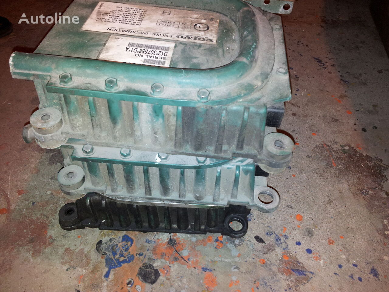 VOLVO FH12, EURO3 D12D ECU engine control unit 460PS; 420PS; 20440501; 20440500, 3161962, 20577131, 85107712, 85000086, 85000388, 20582958, 85111405, 85107712 control unit for VOLVO FH12 tractor unit