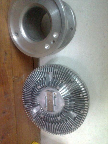 new Diesel Technik MUFTA -perehodnik  4.633035410350214 cooling fan for MERCEDES-BENZ actros truck