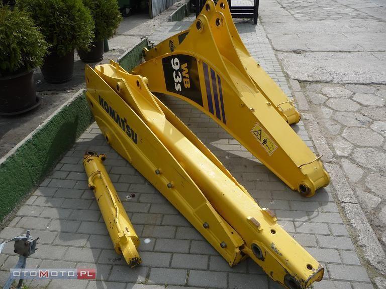 crane arm for komatsu WB93S RAMIĘ KOPIĄCE !, - Standardowe