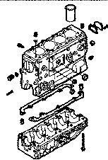 new IVECO BLOQUE DAILY 8140,43 N cylinder block for IVECO 35S15 van