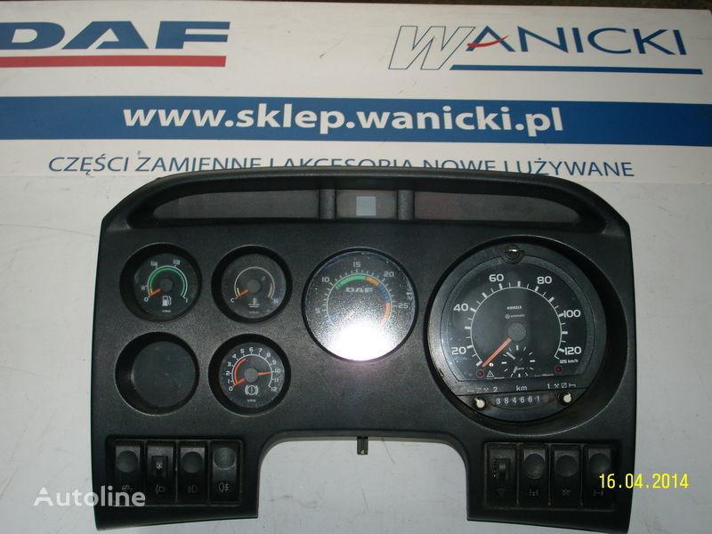 DAF LICZNIKI, ZEGARY , TABLICA PRZYRZĄDÓW,Instrument panel, front dashboard for DAF tractor unit