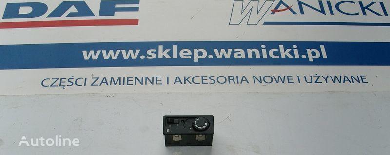 DAF WEBASTO dashboard for DAF CF 65, 75, 85 tractor unit
