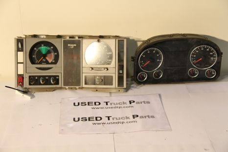 MAN dashboard for MAN tractor unit