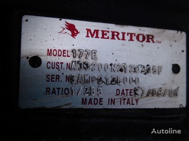 Meritor 177E,2.85 drive axle for IVECO Cursor tractor unit
