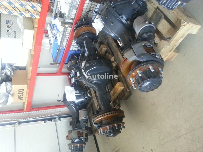 new Meritor drive axle for IVECO Stralis truck