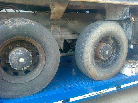 Niemcy 6x4 8x4 drive axle for MAN 26-403 truck