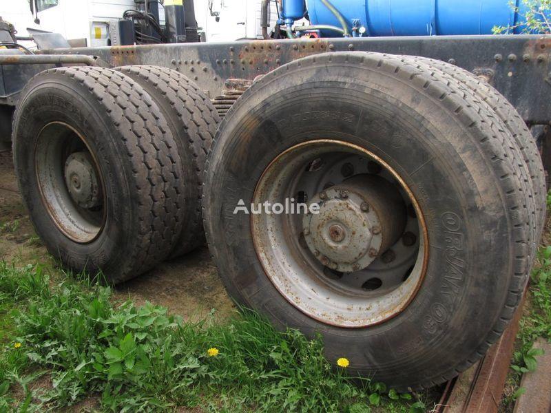 TYLNE MOSTY TANDEM, 2 X REAR DIFFERENTIAL MAN 8X4 8X8 drive axle for MAN 35-414 F2000 8X4 truck