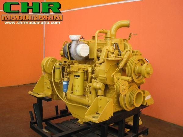 Caterpillar engine for excavator