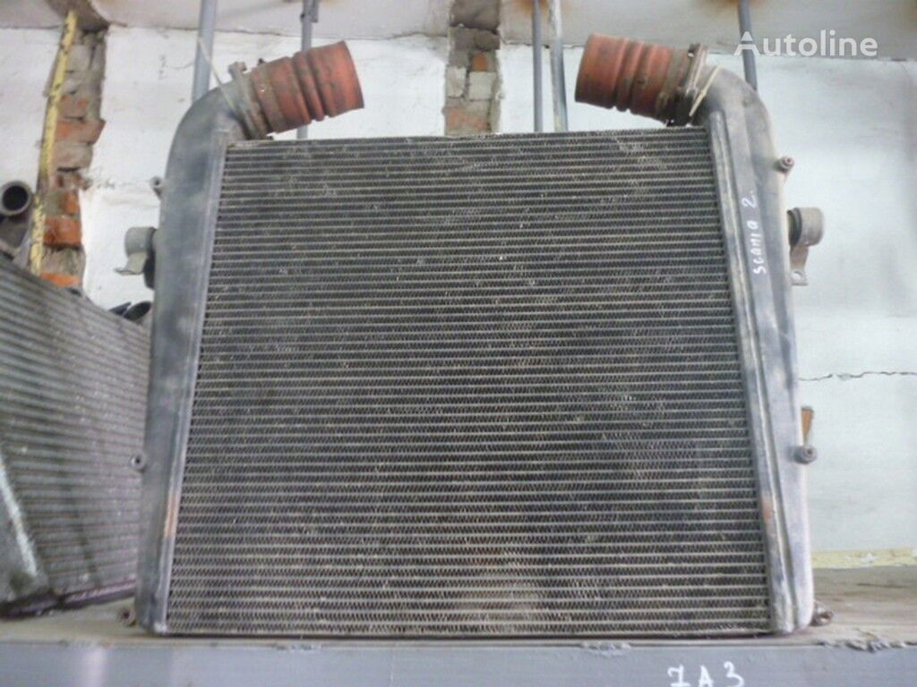 Interkuler (672x650x52) Scania engine cooling radiator for truck