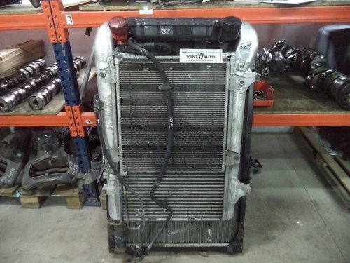 DAF engine cooling radiator for DAF XF 105 tractor unit