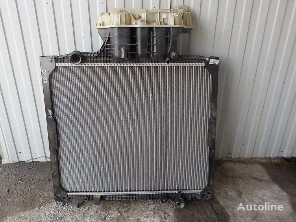 engine cooling radiator for MAN truck
