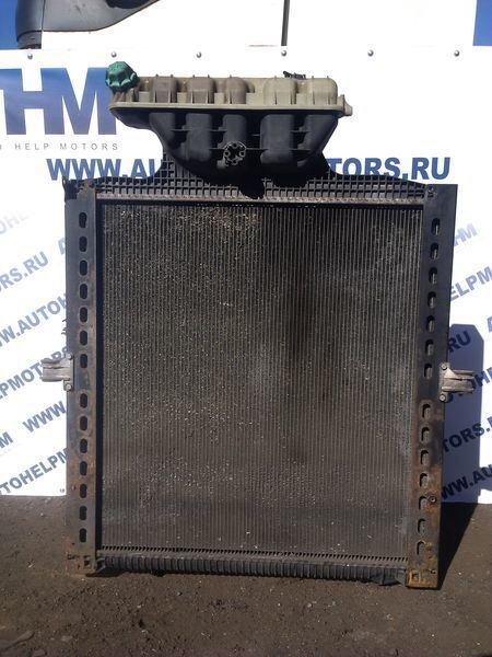 engine cooling radiator for MAN TGA tractor unit