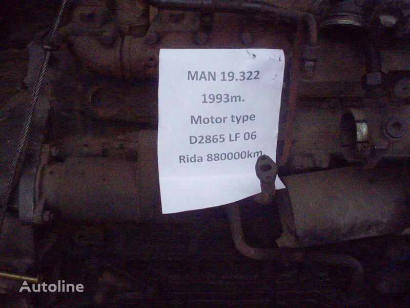MAN D 2865 LF 06 engine for MAN 19.322 truck