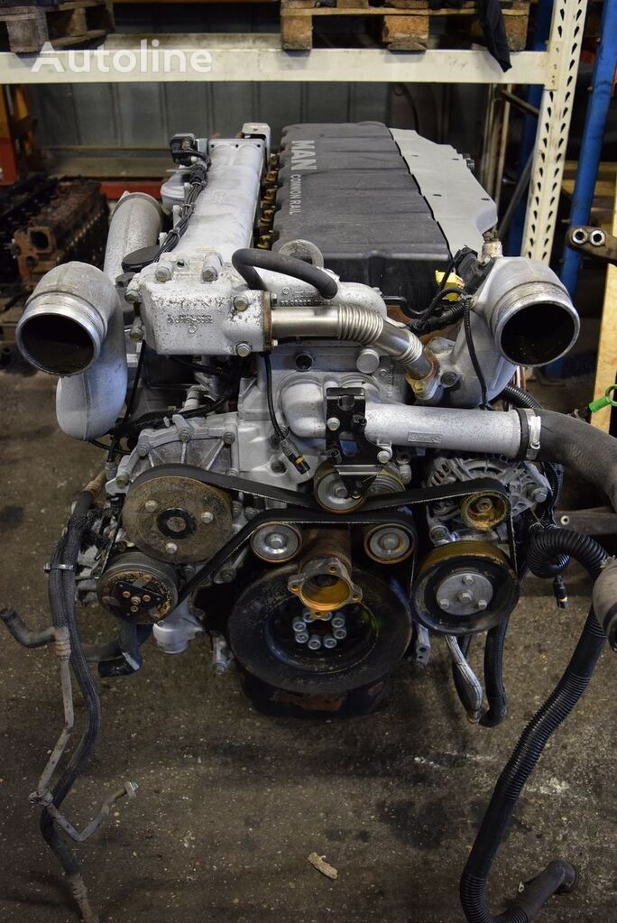 MAN d2066 engine for MAN TGA tractor unit