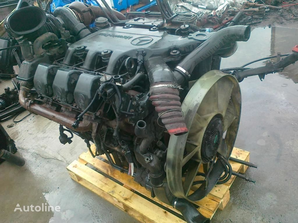 engine for MERCEDES-BENZ OM 501 LA V6 glowica blok pompa truck