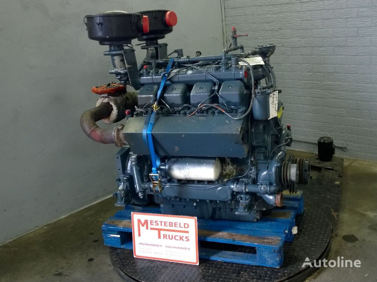 MWM D234 V8 engine for Motor MWM D234 V8 tractor unit