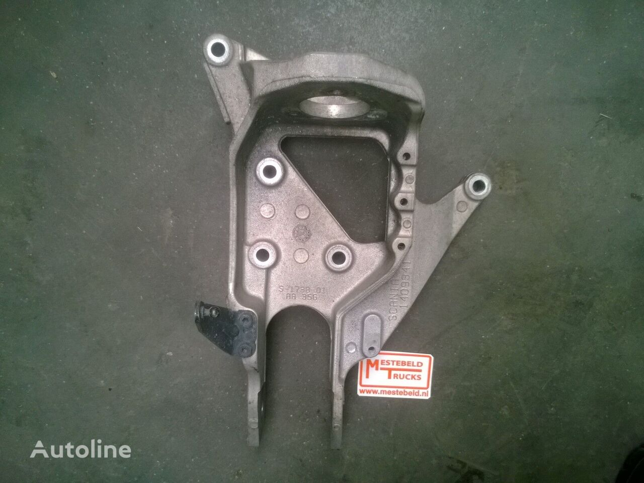 fasteners for SCANIA 4-serie truck