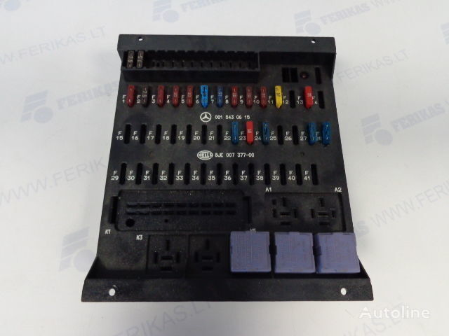 HELLA protection fuse box 0015430615,0015433115,8JE007377-01,8JE007377 fuse block for MERCEDES-BENZ tractor unit
