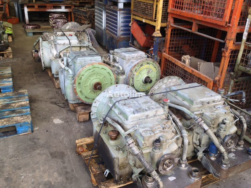 y ZF VOITH 854.3-854.3E-863.3-864.3E + ZF  5hp500-5hp502c-5hp590 gearbox for bus