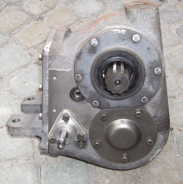 new MOH razdatka , revers (mehanizm obratnogo hoda) gearbox for LVOVSKII material handling equipment