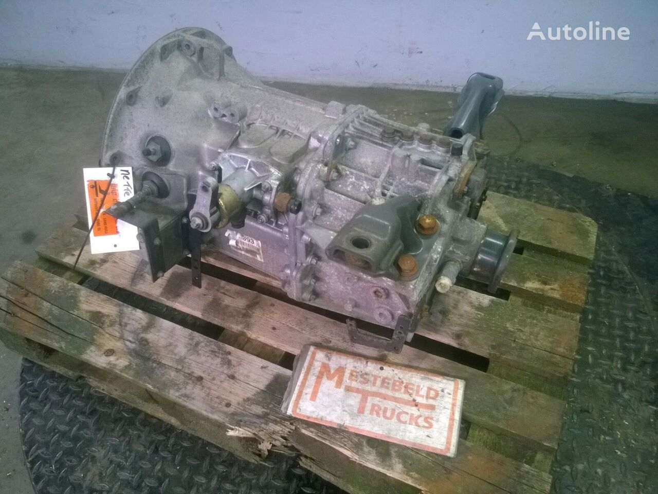 G-60-6 gearbox for MERCEDES-BENZ Versnellingsbak G-60-6 tractor unit
