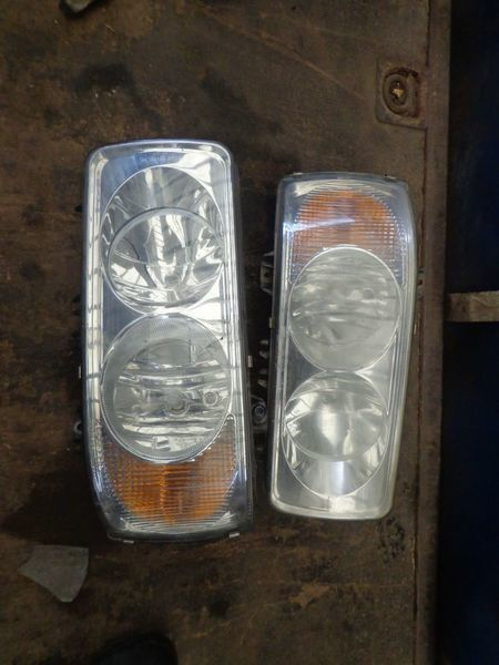 headlamp for DAF tractor unit