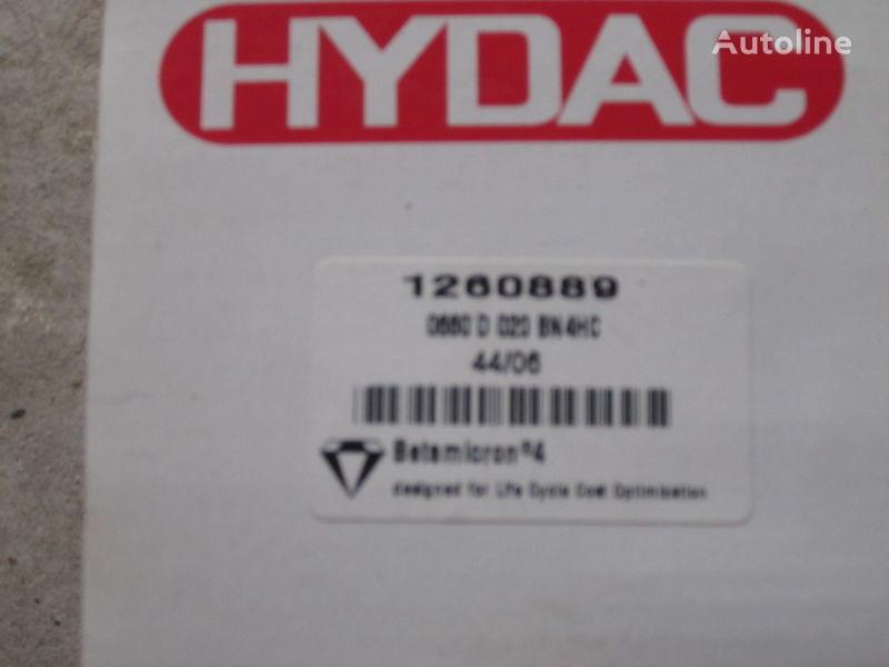 new Nimechchina Hydac 1260889 hydraulic filter for excavator
