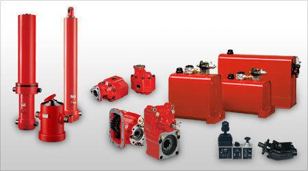 new Binotto hydraulic pump for truck