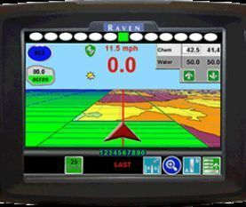 new Raven navigation system for tractor