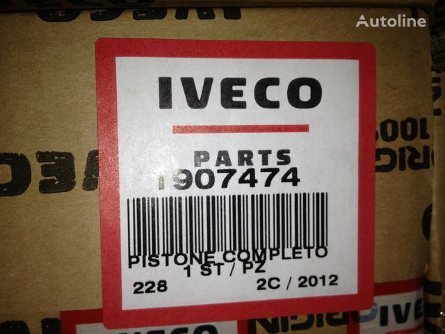 IVECO Class B - Diameter 137 piston for IVECO EUROTRAKKER E37 truck