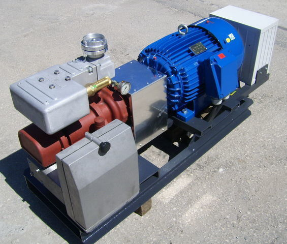 pneumatic compressor for CG80 GHH RAND z silnikiem elektrycznym tank semi-trailer