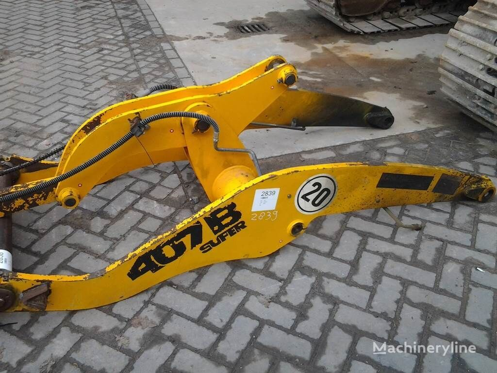 quick coupler for JCB 407BZX wheel loader