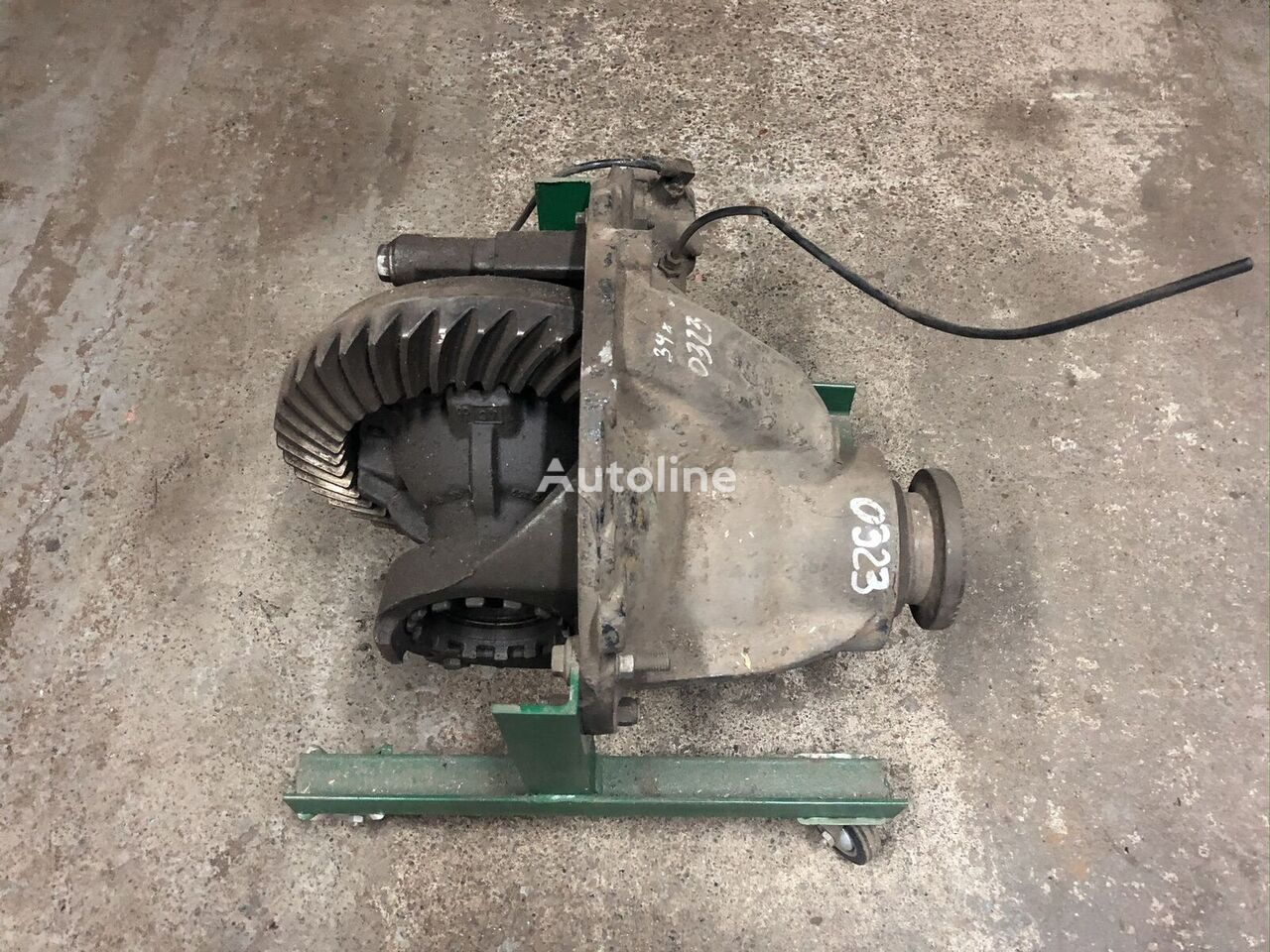 MAN 39:10 reducer for truck