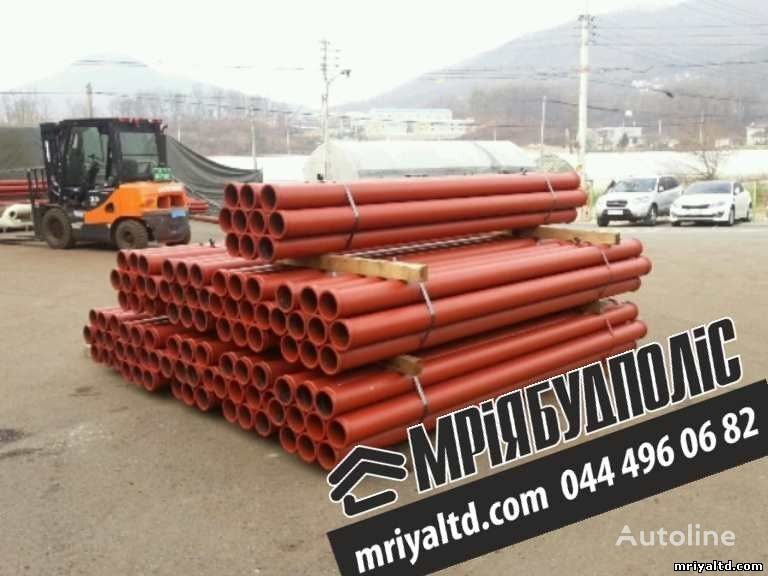 new Truby (stalnoy betonovod) Truby dlya podachi betona, dlya betononasosa spare parts for concrete pump