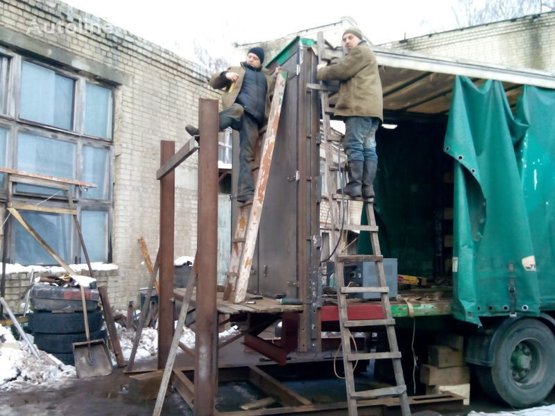 new d-tolik Vorota na gruzovye avto, pricepy i p/pricepy, yashchiki dlya instrumenta spare parts for semi-trailer
