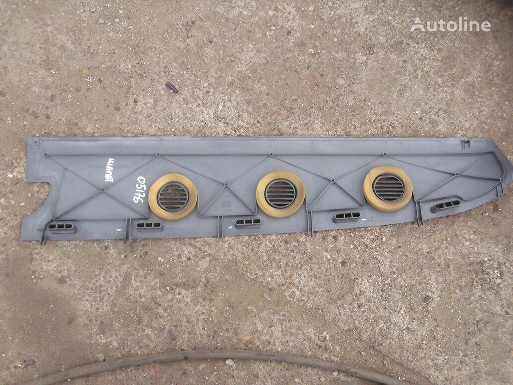 Nakladka-vozduhovod peredney paneli RH Scania spare parts for truck