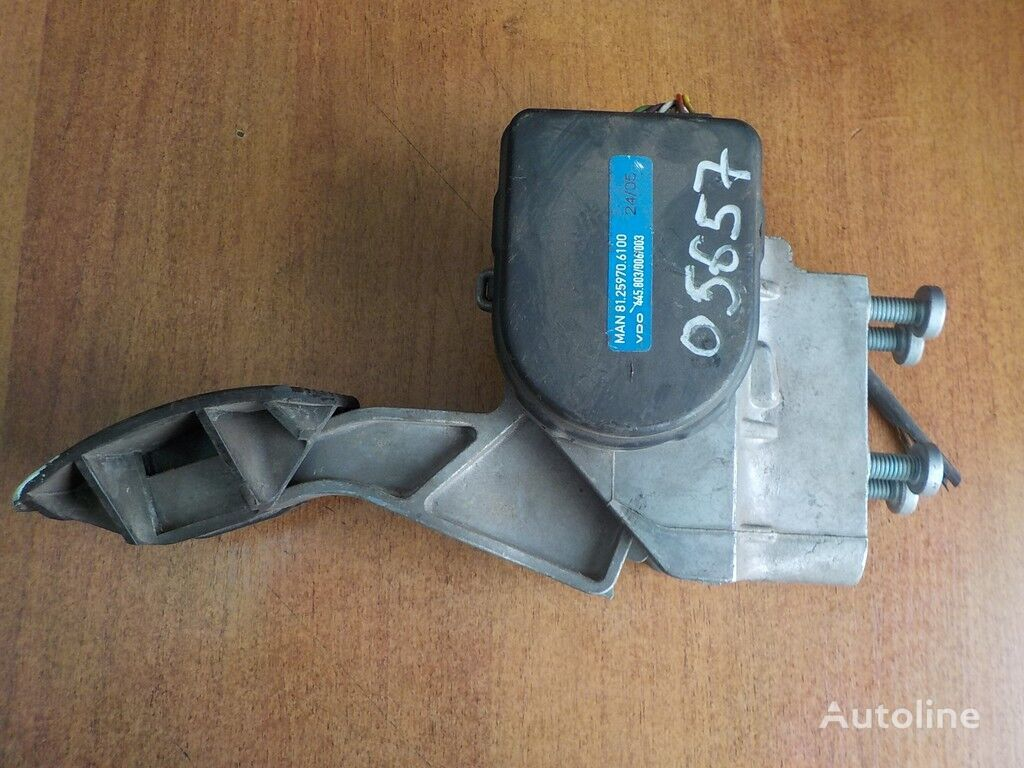 Pedal akseleratora MAN spare parts for truck