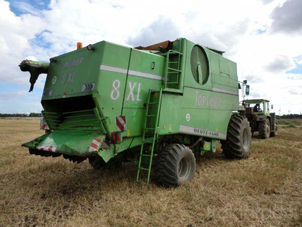 damaged DEUTZ FAHR 8XL spare parts for 8XL combine-harvester