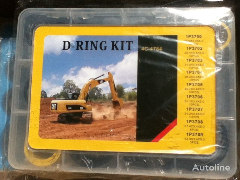 new kolca rezinovye D-ring CAT spare parts for CATERPILLAR excavator