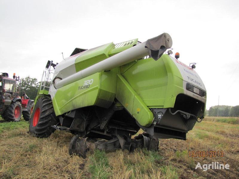 b/u zapchasti/ used spare parts spare parts for CLAAS TUCANO 320 combine-harvester