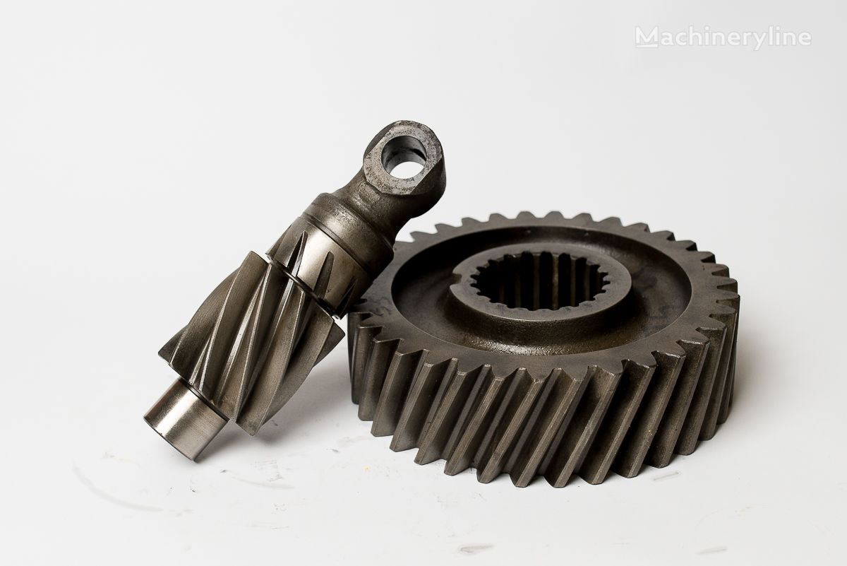 koło talerzowe + Wałek atakujący Kramer 312 412 212 416 620 720 616 112 spare parts for KRAMER 312 SE SL 212; 412; 416; 512; 516  wheel loader